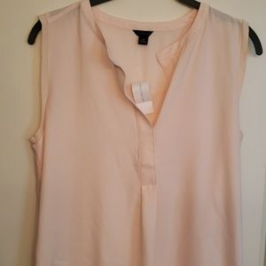 Ann Taylor, sleeveless blouse